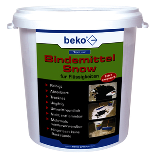 Beko TecLine Bindemittel Snow  600 g Schütte